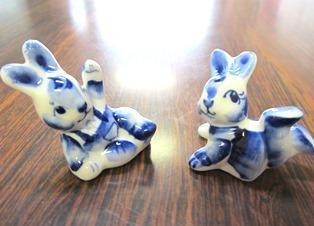 ロシアの工芸品「グジェリ陶器」